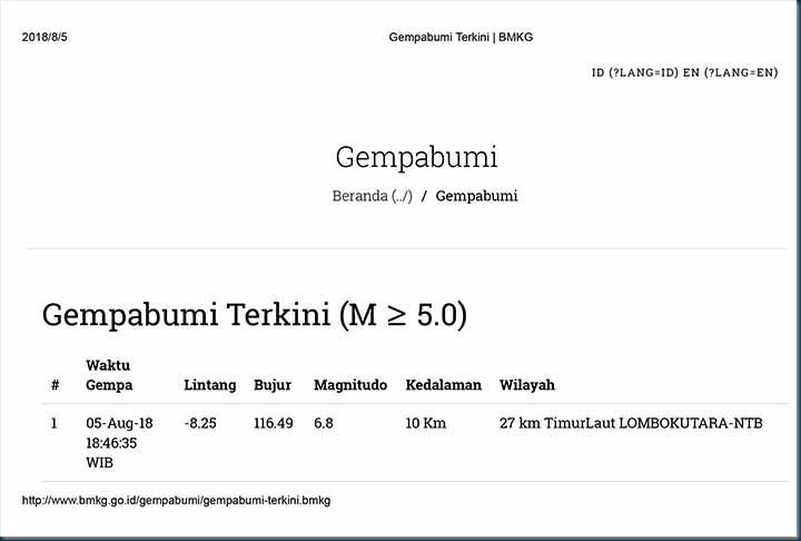 Gempabumi Terkini _ BMKG-1