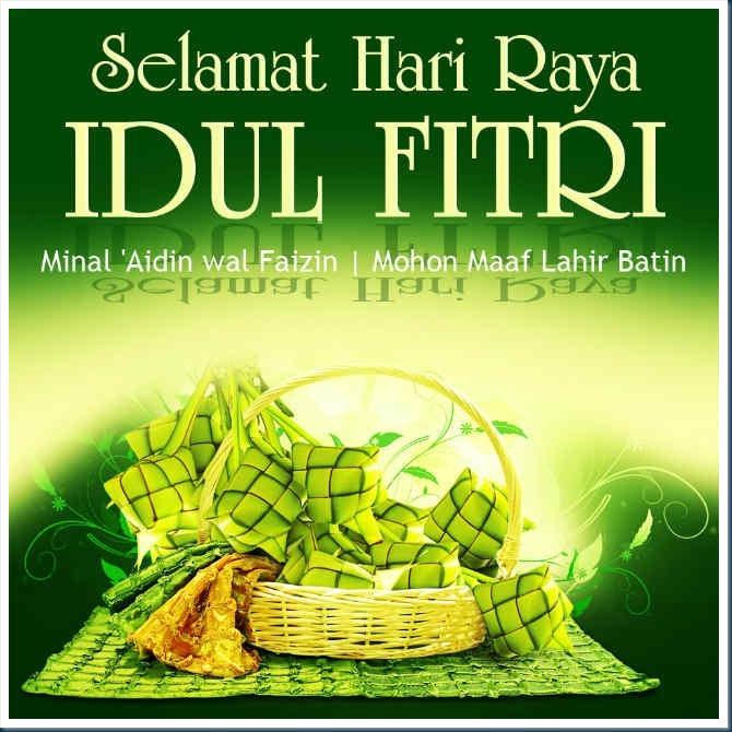 Ucapan Lebaran Selamat Idul Fitri